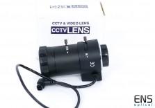 "5-100-8mm f1.6 Zoom CCTV Lens 1/3"" CS Mount with Iris Focus Control"