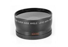 Digiflex 58mm Wide Angle Lens for Canon 350D, 400D, 450D, 500D, 1000