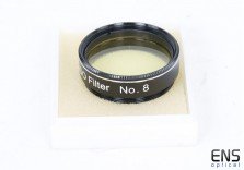 "GSO 1.25"" No.8 Filter Light Yellow"