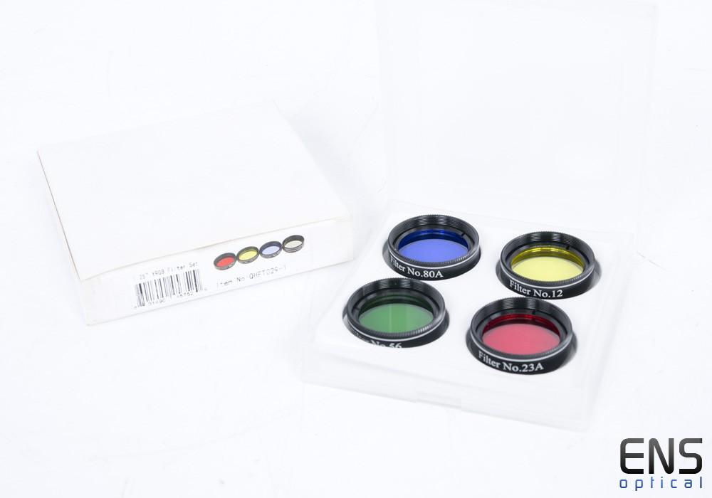 """1.25"""" 4 Piece YRGB Colour Filter Set"""