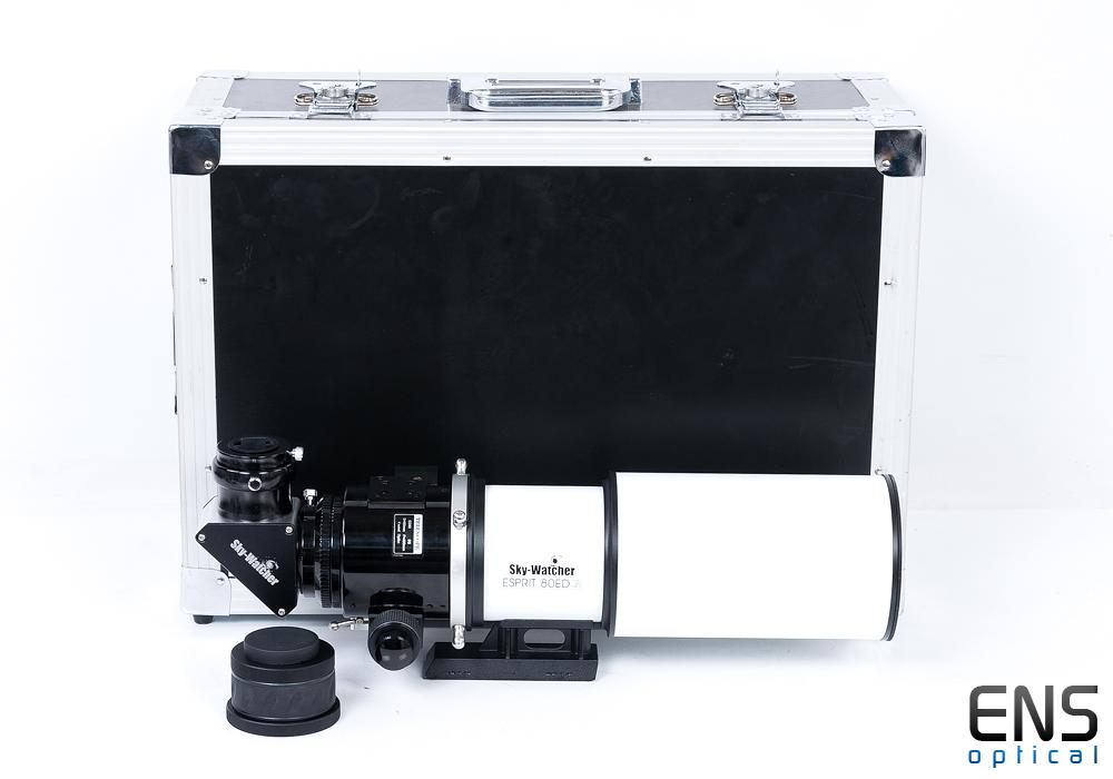 Skywatcher Esprit 80ED F5 fast Imaging Refractor Dedicated Flattener - £1100RRP