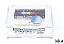 Baader 50.8mm Unmounted HB Narrowband Round Imaging Filter H-Beta - New Sealed