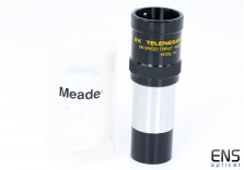"Meade #140 2x APO 1.25"" Triplet Barlow Lens & Bolt case - Japan"