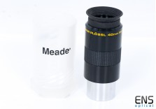 "Meade 40mm Series 4000 Super Plossl Eyepiece Japan - 1.25"""