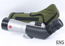 Leica 62 APO Angled Spotting Scope with Case & Zoom Eyepiece **READ**