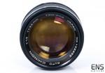 Chinon Tomioka 55mm F1.2 Auto M42 Screw Fit Classic Fast Lens - Uber Rare *READ*