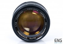 Chinon Tomioka 55mm F1.2 Auto M42 Screw Fit Classic Fast Lens - Uber Rare *READ*