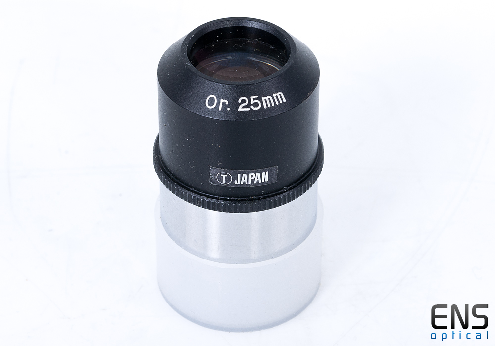 "Circle T 25mm Orthoscopic Eyepiece 1.25"" Japan"