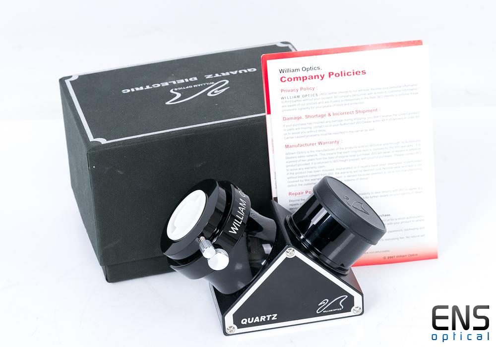 "William Optics 2"" Quartz Mirror Diagonal with 1.25"" Adapter - Mint Boxed £204RRP"