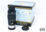 Explore Scientific 5.5mm 100º Ultra Wide Angle Eyepiece Argon - Boxed Stunning