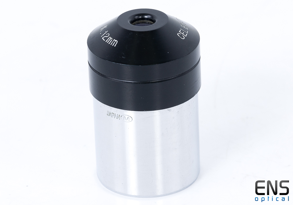 "Celestron 12mm Kellner Eyepiece 1.25"" - Circle M Japan"