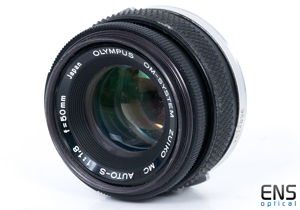 Olympus 50mm f/1.8 OM F.Zuiko Auto-S Standard prime lens 2812836 *READ*