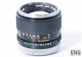 Canon 100mm F/2.8 FD Chrome Nose 26016 - *Read*