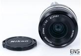 Nikon Nikkor 35mm F2.8 fast Wide Angle Manual Lens Pre AI Stunning! - 812957