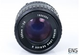 Nikon 100mm f/2.8 Ai-S Series E Short Telephoto prime lens 1836354 *READ*