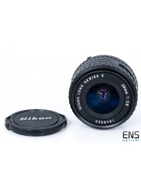 Nikon 28mm f/2.8 Ai-S Series E wide angle prime lens - nice 1848060