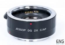 Jessop 2x Teleconverter DG C/AF Canon EOS Auto Focus lenses