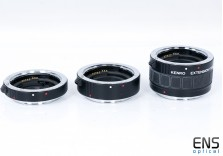 Kenko Macro Extension Tubes for Canon EOS EF and EF-S 12mm/20mm/36mm