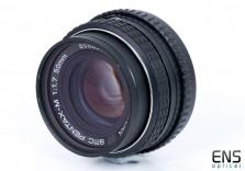 Pentax M 50mm f/1.7 SMC standard prime manual focus lens 8068973