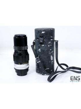 Nikon 200mm F4 Pre AI Nikkor Q Auto Scalloped Fast Prime Lens 536511