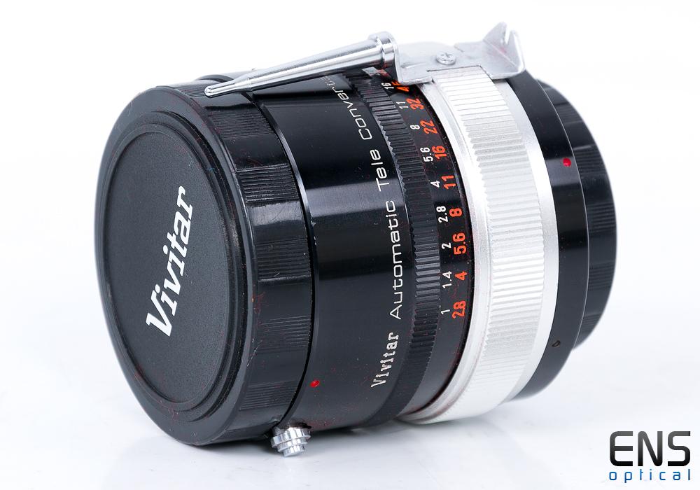 Vivitar Automatic Tele Converter 3x-3  - Nikon F Mounts