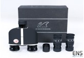 William Optics Binoviewer Complete Package with 2x William Optics 20 mm WA 66 deg. eyepieces