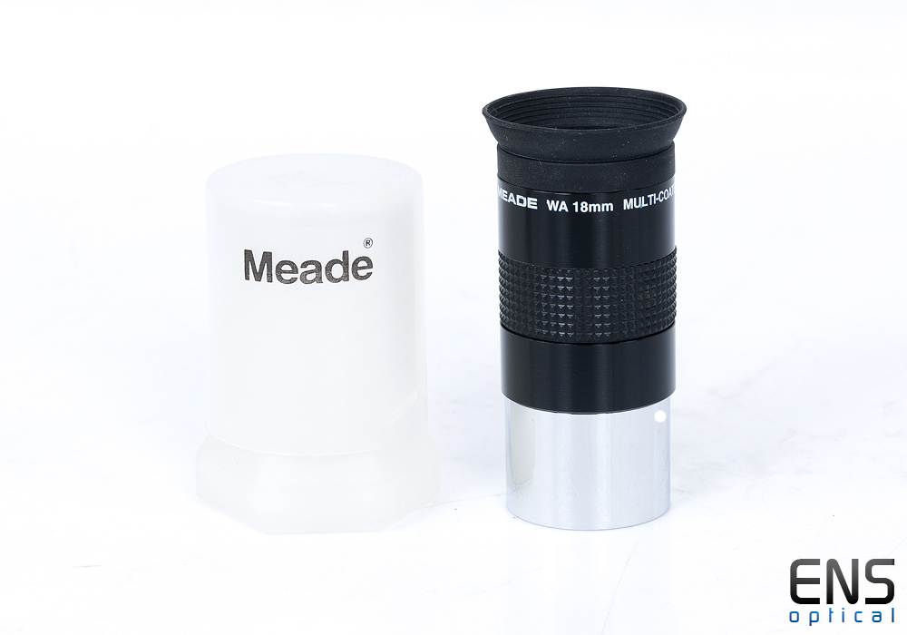 """Meade WA 18mm Multi-Coated Eyepiece1.25"""" with bolt case Japan"""