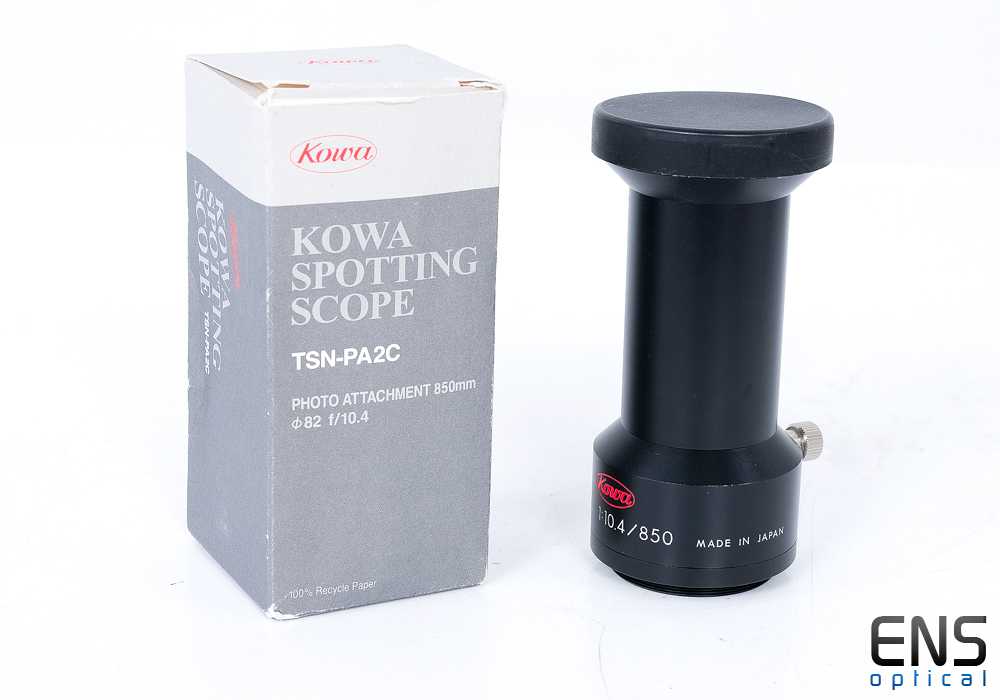 Kowa TSN-PA2c 850mm F10.4 Photo adaptor For TSN 820 Series Spotting Scopes