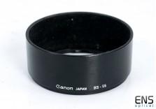 Canon BS-55 Lens Hood - Fits FD Lens - Japan