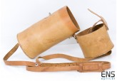 Geanuine Leather Quiver for Optolyth 30x80 Monoculars