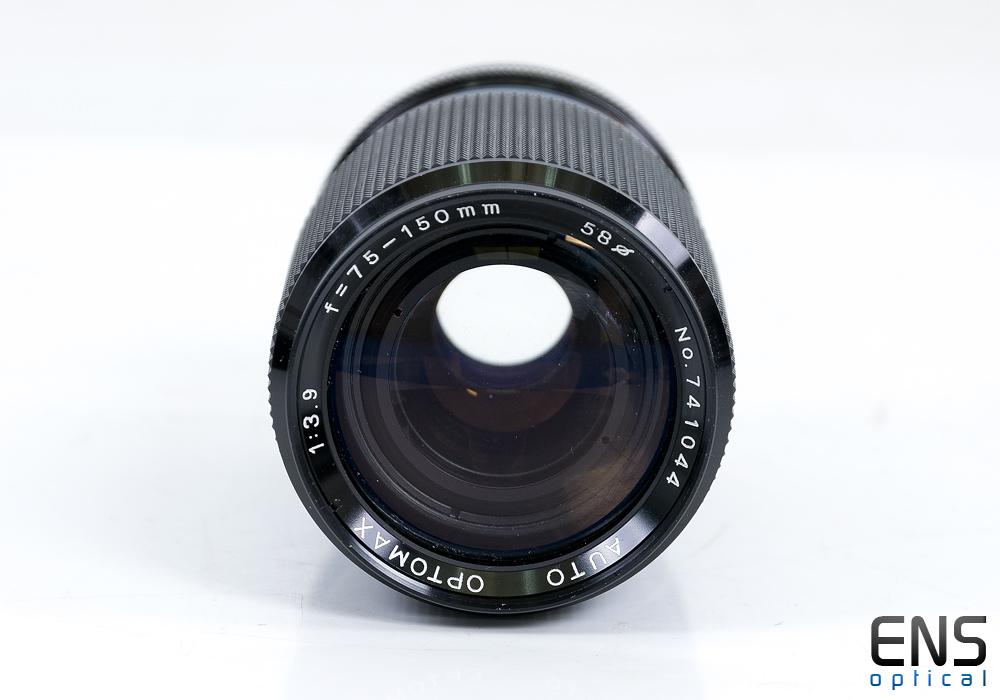 Optomax 75-150mm F3.9 Auto Lens Pentax PK - 741044 - JAPAN