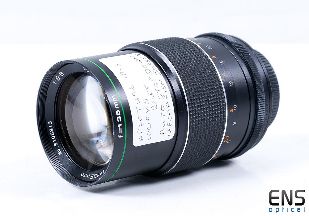 Hanimar 135mm f/2.8 Manual Focus Auto Lens Pentax Fit - 3105813 *READ*