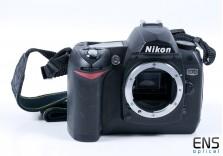 Nikon D70 Digital SLR Camera Black Body Only - 8028922