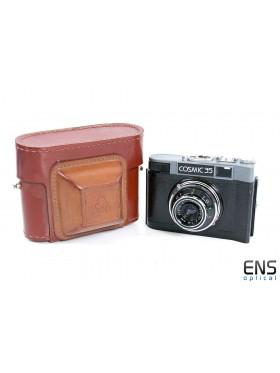 Vintage Cosmic 35 Film Camera in Case - 287433 USSR