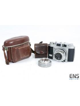 Vintage Balda Super Baldina 35mm Film Camera w/ 50mm f3.5 Lens - 041352 Germany