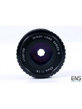 Nikon 50mm f/1.8 Ai-S Nikkor Prime Pancake Lens - Superb - 1730130