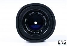 Carl Zeiss Jena 50mm f/1.8 Prime Lens Praktica Bayonet Fit - 4981502 Germany