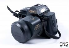 Canon T80 35mm SLR Film Camera Kit w/ 35-70mm Zoom Lens STUDENT