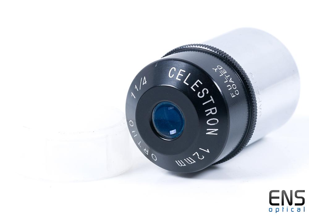 "Celestron 12mm Orthoscopic Eyepiece 1.25"" - Circle-V JAPAN"