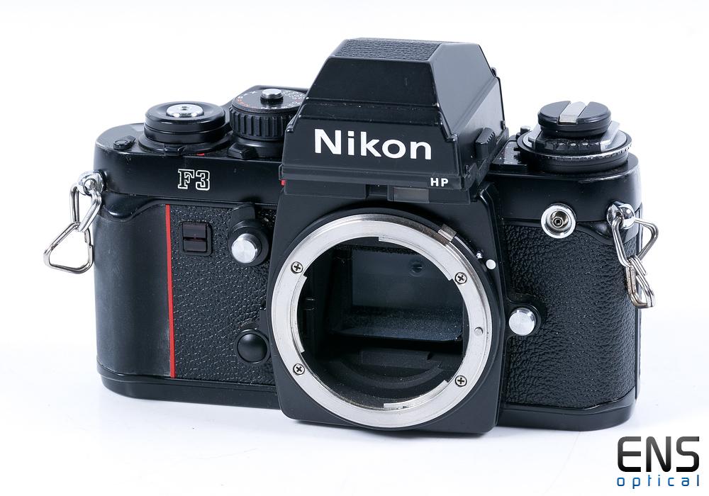 Nikon F3 HP 35mm SLR Film Camera Body with MF-14 Data Back