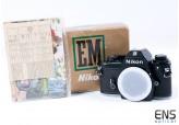 Nikon EM 35mm Classis SLR Film Camera - Mint Boxed - 7814246