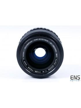 Olympus 35-70mm f/4 Zuiko Auto Zoom Lens OM - 147025 JAPAN