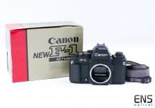Canon F-1 AE 35mm film SLR camera body   - A classic! 163824