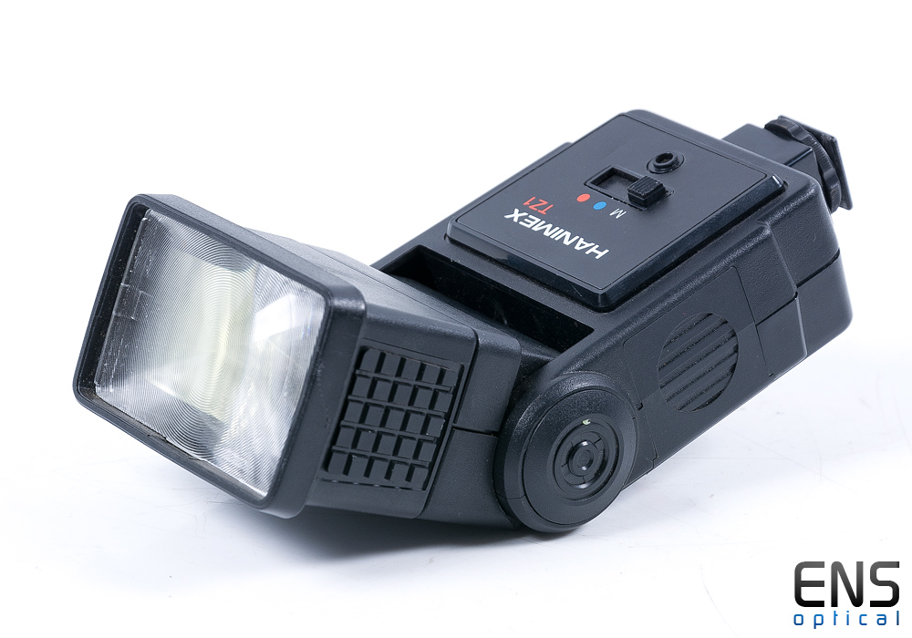 Hanimex Tz1 Zoom Tilt Head Electronic Flash Gun