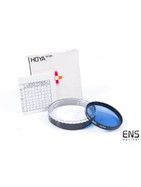 Hoya 52mm 80B Blue Cooling Lens Filter with case/box