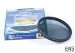Hoya 58mm Circular PL Filter with case
