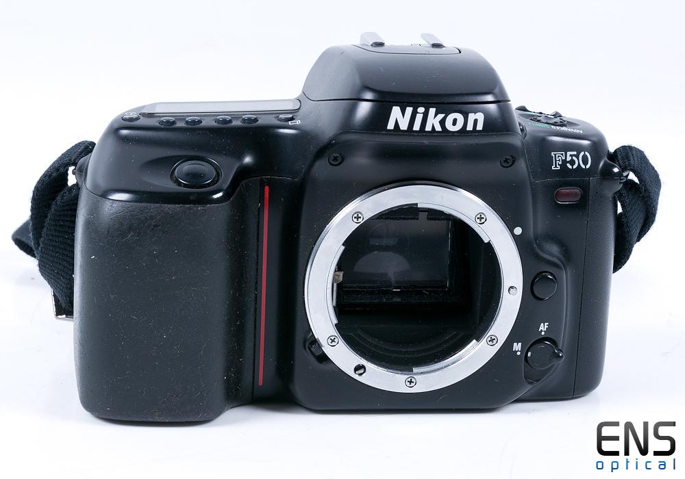 Nikon F50 35mm Film SLR Camera Black 2607878