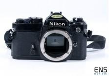 Nikon FE 35mm SLR Film Camera Black - JAPAN 3722719 *SPARES*