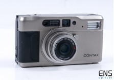 Contax TVS 35mm SLR Film Camera - Point and Shoot - Nice! 030722
