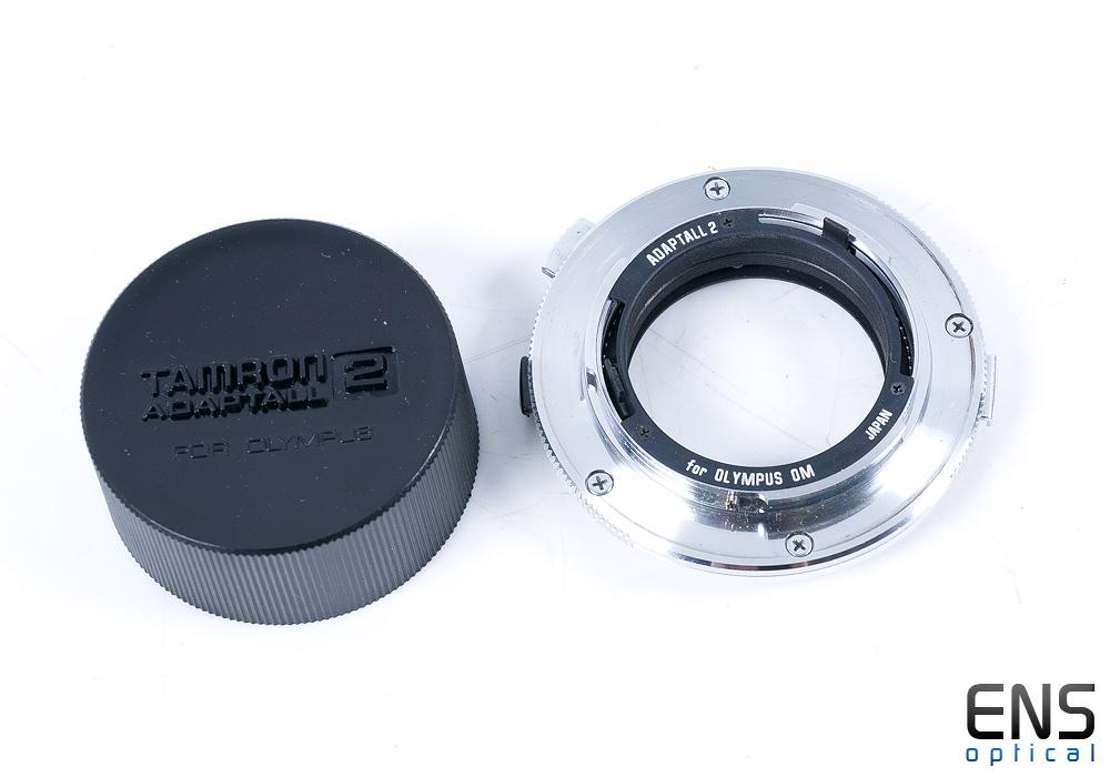 Tamron Adaptall 2 adapter for Olympus OM